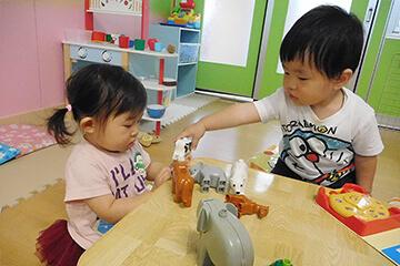 乳園児の施設開放